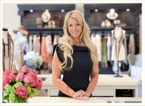 Service in an exclusive boutique with a smile