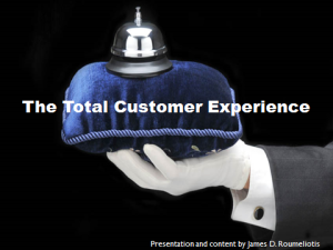 Total Customer Experience Presentation Cover