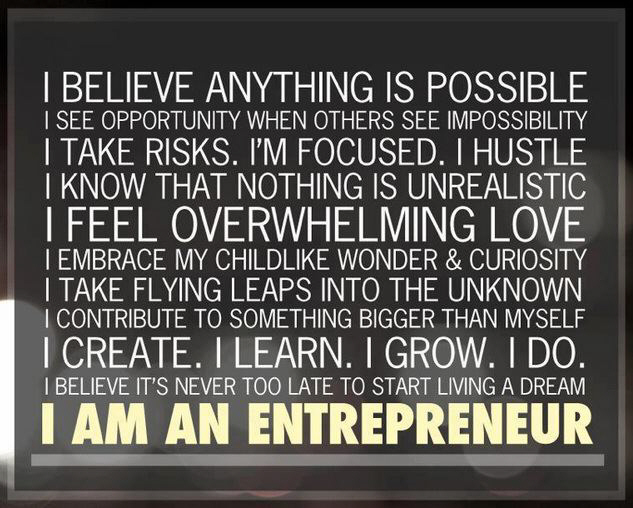 entrepreneur poster unconventional business wisdom for