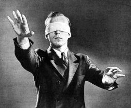 Blindfolded Executive