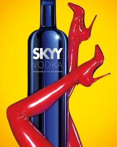 Skyy Vodka - Sexy Brand