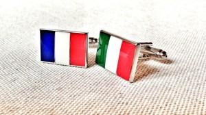 France - Italy Cufflinks