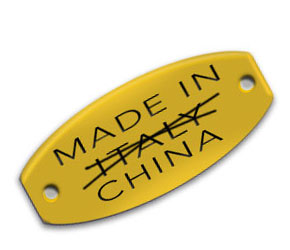 Made in Italy - NO in China Tag