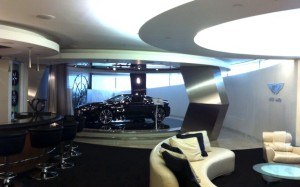 Aston Martin Showroom Lounge
