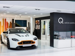 Aston Martin Showroom