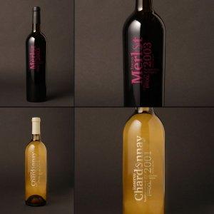 Saddlers Creek Naked Wines minimalist design
