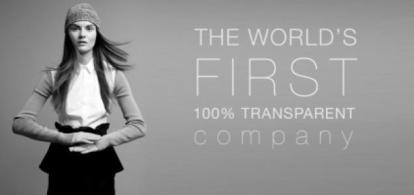 Honest by ad. A pioneering company launched in January 2012. The company is unique in communicating about the supply chain of its products and pricing.