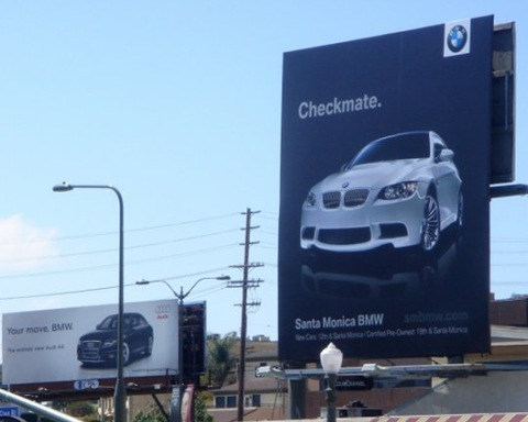 Audi and BMW Billboard Challenge 1