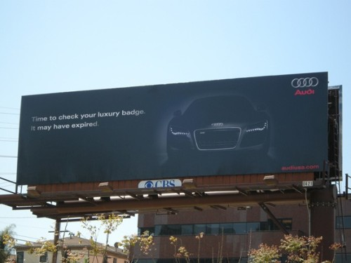 Audi and BMW Billboard Challenge 2