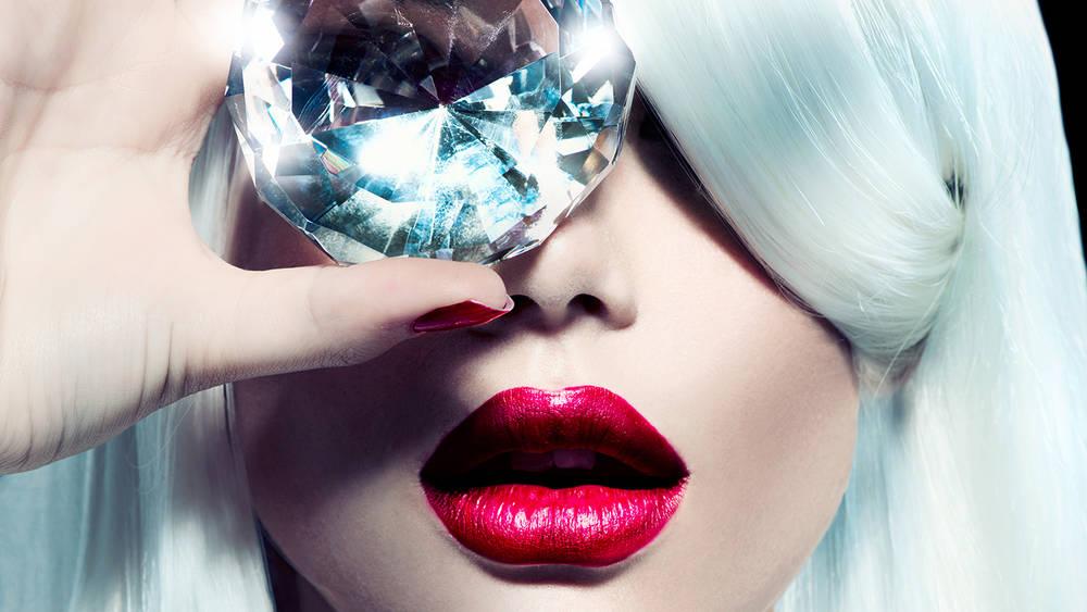Luxury Image - Woman With Diamond