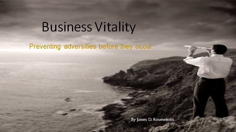Business Vitality - presentation cover